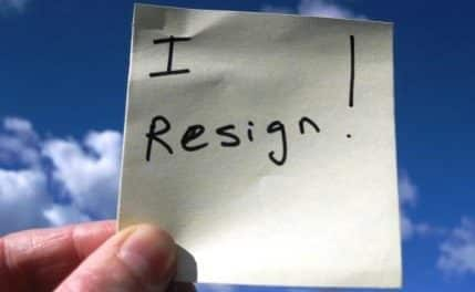 When Guru Resigns?