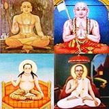 Four Vaiṣṇava Sampradāyas, Four Sampradāya Ācāryas