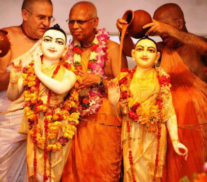 Prabhavisnu's Entrée into ISKCON Society after his recent disgrace